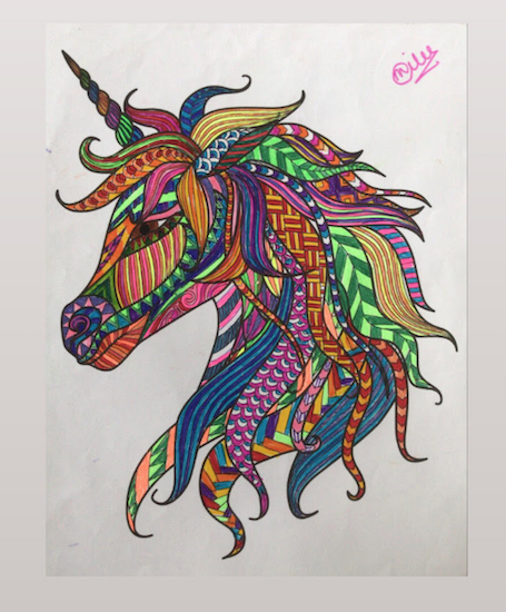 The Vibrant Unicorn